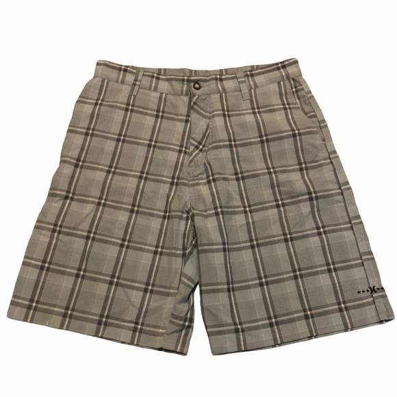 Hurley Other - Hurley Men's Flat Front Shorts Size 36
